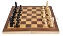 Klasyczne SZACHY drewniane gra w PUDEŁKU etui Wiek gracza 12-14 lat 15-18 lat 18+ 5-7 lat 8-11 lat