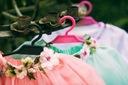 Zestaw dziewczynka spódniczka tiul lato wiosna Materiał dominujący elastan