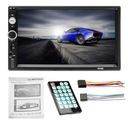 RADIO 2DIN EKRAN 7 USB SAMOCHODOWE SD MP3 + KAMERA Szerokość produktu 18 cm