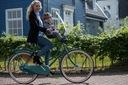 Fotelik rowerowy BOBIKE ONE Mini niebieski + SZYBA Waga 500 g