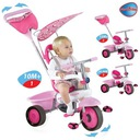 Smart Trike Fresh rowerek różowy 3w1 wieloetapowy