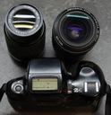 Pentax Z-1 body + dwa obiektywy 28-80mm i 80-200mm