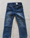 Spodnie dżinsy jeansy H&M r. 104 serduszka