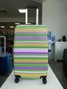 walizka podrozna srednia david jones paski kolor