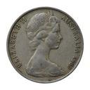 20 centów 1967 Australia Elżbieta II st.III
