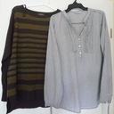 Zestaw ubrań C&A: sweter + bluzka rozm. 40/ L