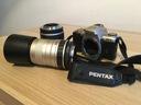 Pentax MZ-5 lustro + Sigma 28-80 mm + 100-300 mm