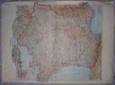 FRANCJA. Duża mapa.