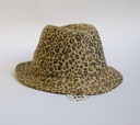 STUDIO KOKIN NEW YORK kapelusz leopard ORYGINAŁ
