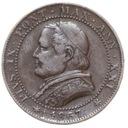 Watykan - moneta - 1 Soldo 1867 - 2 - RZADKA !