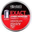 Śrut JSB JUMBO MONSTER EXACT 5,52 mm 5.52 ciężki