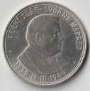 Słowacja  /  50 koron  /  1944  /  Tiso  / srebro