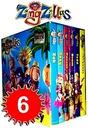 ZingZillas 6 książek bajki angielski TV BBC