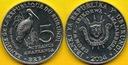 BURUNDI 5 Francs 2015 r. - Mycteria ibis