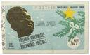 22.Congo Belg., Los Loterii 21 Franków 1954, St.3+