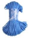 Sznurek bawełniany 100m 3mm OUTLET niebieski