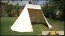 Norman Tent 2 x 3 m - cotton