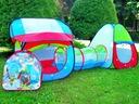 Ogrodowy Namiot z Tunelem kolorowy domek Tunel