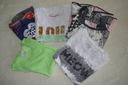 NEXT - zestaw 5 szt. ubrań dla dziewczynki 5-6 lat