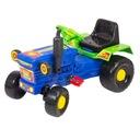 Traktor zabawka jeździk pojazd dla dzieci niebiesk