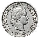 Szwajcaraia - moneta - 5 Rappen 1933 - RZADKA !