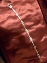 Biżuteria srebro Bransoletka srebrna z kryształkam