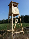 Domek drewniany dla dzieci Ambona 3 m wysoka