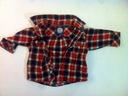 Mothercare - flanelkowa  koszula krata r.74