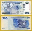-- KONGO 500 FRANCS 2002 PG-W P96 UNC