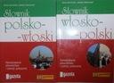 SŁOWNIK WŁOSKO-POLSKI+POLSKO-WŁOSKI SERIA GAZETY