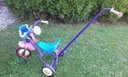 rowerek trójkołowy dziecięcy z popychaczem okazja