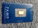 1 gram złoto Pamp Szwajcaria