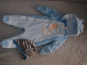 Kombinezon zimowy, Disney, chłopiec 62 cm Czapka