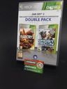 GRA XBOX 360 2PACK FARCRY2 / GHOST RECON