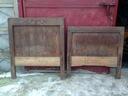 **** Łóżko drewniane --- 2 elementy *****