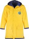 Płaszcz Przeciwdeszczowy Żółty Unisex