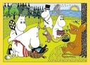 Puzzle 4w1 - Wesoły dzień Muminków 34368 Liczba elementów 207 szt.