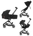 GB kompaktowy wózek POCKIT+ All City Velvet Black Typ siedziska Rozkładane