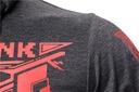 Bluza z Kapturem Cyberpunk na Lato Osłona Twarzy Kolor szary
