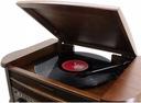 GRAMOFON RETRO RADIO DAB+ FM CD MP3 USB KASETA Waga produktu z opakowaniem jednostkowym 8 kg