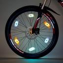 Lampka LED na szprychy nakładka rowerowa na koła Rodzaj na koło