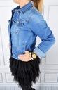Katana Kurtka Jeans Klasyczna Jeansowa Plus Size Marka inna