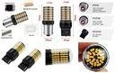 2szt Mocne żarówki LED T20 7440 WY21W 2800l CANBUS Rodzaj LED
