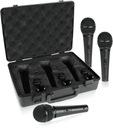 Mikrofony dynamiczne Behringer XM1800S Zestaw