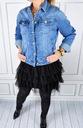 Katana Kurtka Jeans Klasyczna Jeansowa Plus Size Waga (z opakowaniem) 0.8 kg