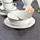 VILLA ITALIA HATTY PLATIN Serwis obiadowy + kawowy Rodzaj serwisu Obiadowo-kawowe
