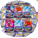 Karty POKEMON CHILLING REIGN 36saszetek=288 kart Producent inny