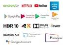 Telewizor 4K 50 CHiQ U50H7A Smart TV AndroidTV HDR Rozdzielczość ekranu (px) 3840 x 2160