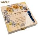 Pudełko na pieniądze banknoty prezent ślub wesele Płeć Produkt uniseks
