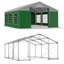 4x6m Namiot ogrodowy wzmocniony imprezowy zimowy